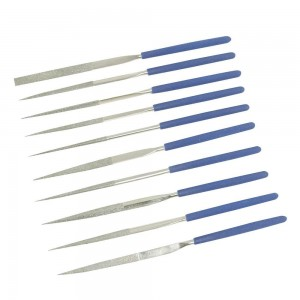 Silverline Diamond Needle File Set 10 Piece