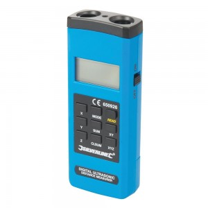 Silverline Digital Laser Range Measure Distance Finder