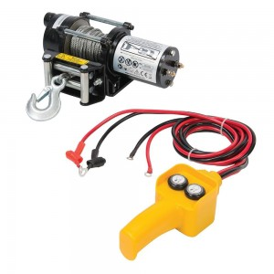 Silverline DIY 12v Electric Winch 2000lb