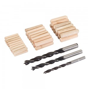 Silverline Dowel & Bit Set 47 Piece