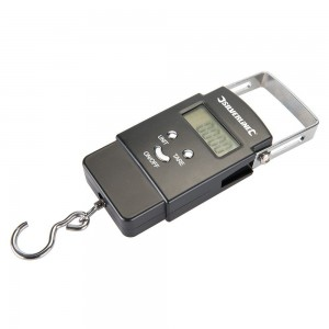 Silverline Electronic Pocket Balance Digital Bag Weighing Scales 40kg