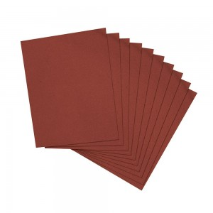 Silverline Emery Cloth Metal Hand Sanding Sheets Pack of 10 (Various Grits)