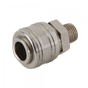 Silverline Euro Air Line Male Thread Quick Coupler