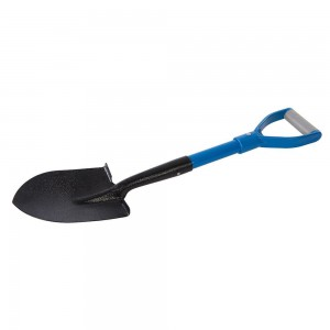 Silverline Fibreglass Round Head Micro Shovel