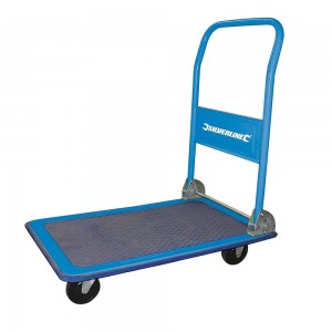 Silverline Folding Platform Truck Trolley 150kg