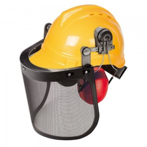 Silverline Forestry Helmet with Visor & Ear Defenders