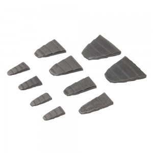Silverline Hammer Wedge Set 10 Piece