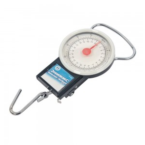 Silverline Hanging Weighing Scales & Tape Measure 22kg