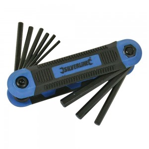 Silverline Hex Key Imperial Expert Tool 9 Piece (5/64 - 1/4in)