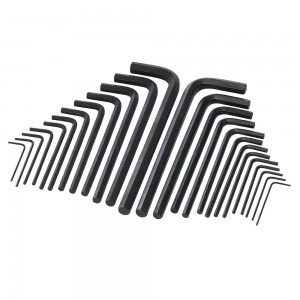 Silverline Hex Key Long Series Set 25 Piece