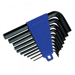 Silverline Hex Key Set 10 Piece Imperial