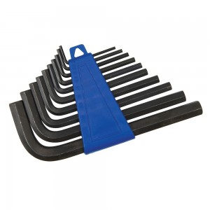Silverline Hex Key Set 10 Piece Metric