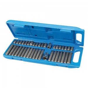 Silverline Hex, Torx & Spline Bit Set 40 Piece