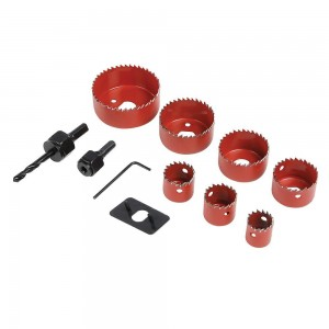 Silverline Holesaw Kit 11 Piece (21-64mm)