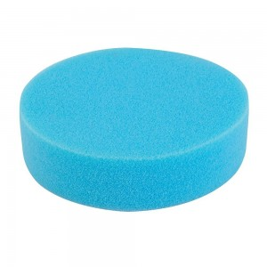 Silverline Hook & Loop Foam Polishing Head 150mm Medium Blue