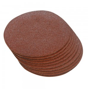 Silverline Hook & Loop Sanding Discs 300mm Pack of 10 (Various Grits)