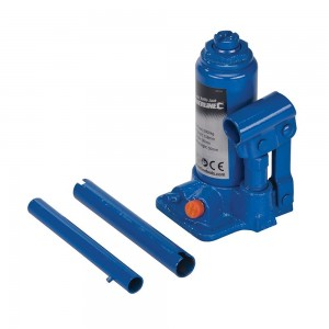Silverline Hydraulic Bottle Jack (2 - 10 Tonne Sizes)