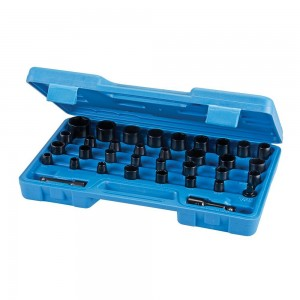 Silverline Impact Socket Set 35 Piece