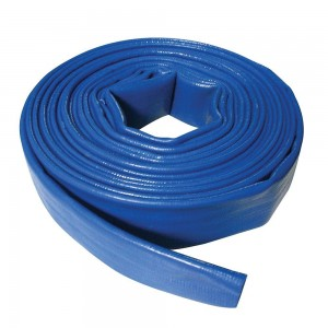Silverline Lay Flat Pump Hose 10 Metres (25-50mm diameter options)
