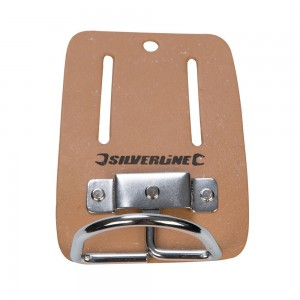 Silverline Leather Hammer Holder Tool Belt Accessory