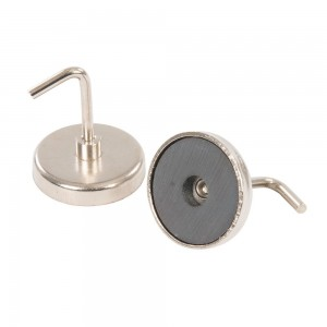 Silverline Magnetic Hooks Pack of 2