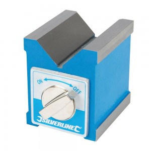 Silverline Magnetic V-Block