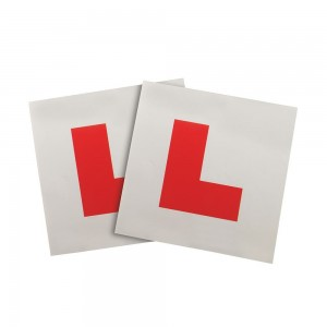 Silverline Magnetic Vehicle 'L' Plates 2 Piece