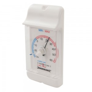 Silverline Min/Max Dial Thermometer