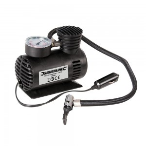 Silverline Mini Automotive Air Compressor