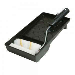 Silverline Mini Roller & Tray Set