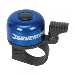 Silverline One-Touch Ping Bicycle Bell