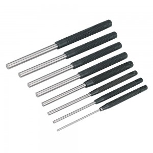 Silverline Pin Punch Set Square Heads 8 Piece