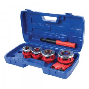 Silverline Pipe Threading Kit 5 Piece