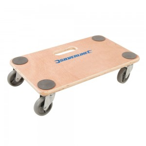 Silverline Platform Dolly Trolley 150kg