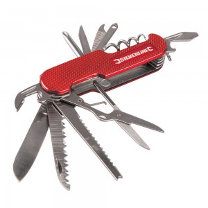 Silverline Pocket Knife 14-Function Multi-Tool