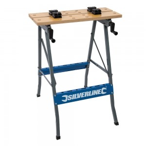 Silverline Portable Folding Workbench