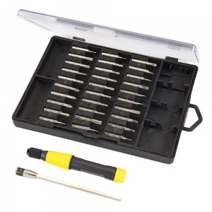 Silverline Precision Screwdriver Bit Set 32 Piece