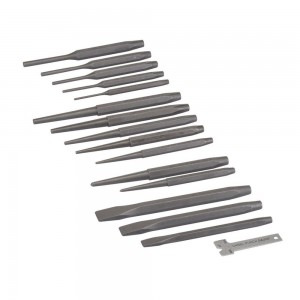 Silverline Punch & Chisel Set 16 Piece