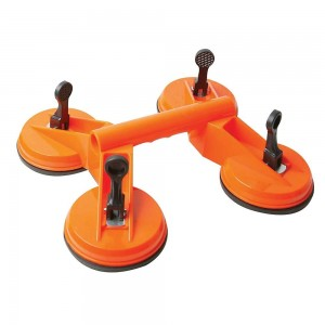 Silverline Quad Suction Pad Lifter 120kg