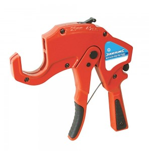 Silverline Quick Action Plastic Pipe Cutter 42mm