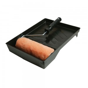 Silverline Roller & Tray Set