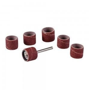 Silverline Rotary Tool Drum Sanding Set 7 Piece 12.7mm (1/2in)