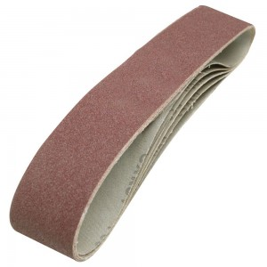 Silverline Sanding Belts 50 x 686mm 80 Grit Pack of 5