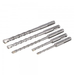Silverline SDS Plus Masonry Drill Bit Set 5 Piece (5-10mm)