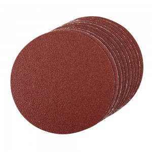 Silverline Self-Adhesive Sanding Discs 150mm Pack of 10 (Various Grits)