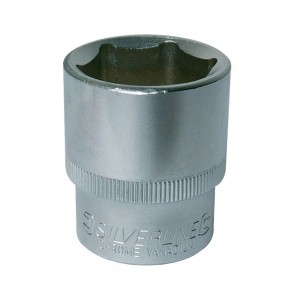 Silverline Socket 1/2in Drive Metric (10-32mm Sizes)