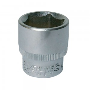Silverline Socket 3/8in Drive Metric (6-21mm Sizes)