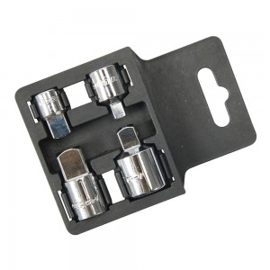 Silverline Socket Converter Set 4 Piece