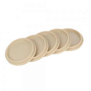 Silverline Solid Board Access Hole Covers Pack of 5