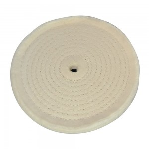 Silverline Spiral-Stitched Cotton Buffing Wheel
